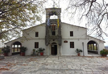 Agioi Taxiarches church in Tsagarada, Pelion