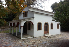 Agios Georgios church in Tsagarada, Pelion