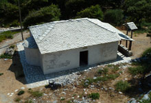 Zoodochou Pigis church in Tsagarada, Pelion