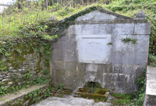 Agia Kiriaki fountain in Tsagarada, Pelion
